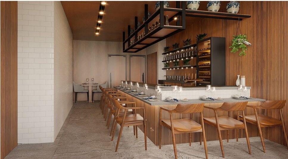 Ravintola Latitude 25 sisustussuunnittelu helsinki