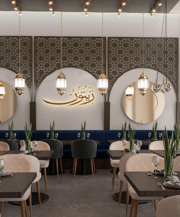 Ravintola Zytuun Turku Sisustussuunnittelu